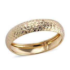 Royal Bali Diamond Cut Texture Band Ring in 9K Yellow Gold
