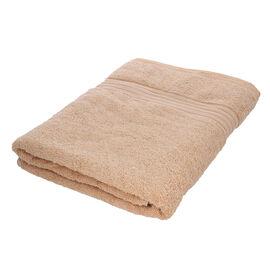 Egyptian Cotton Terry Towel Sheet - Beige