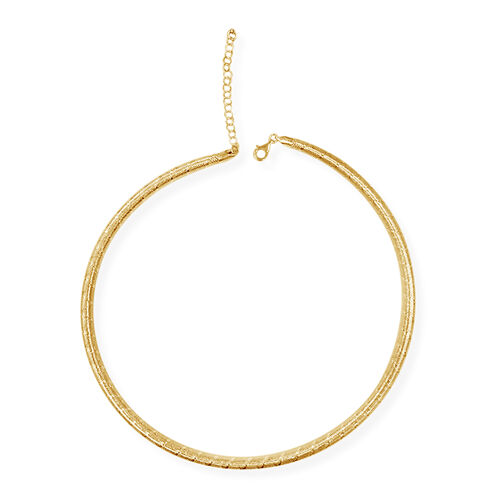 Majestic Necklace in 9K Yellow Gold 6 Grams 17 with 2 inch Extender