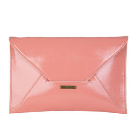 Bulaggi Collection - Isabella Envelope Clutch Bag in Coral (Size 30x19x01 Cm)