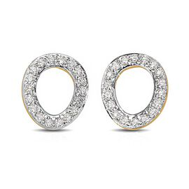 Rachel Galley Versa Collection - 9K Yellow Gold SGL Certified Diamond (I1/G-H) Stud Earrings (with P