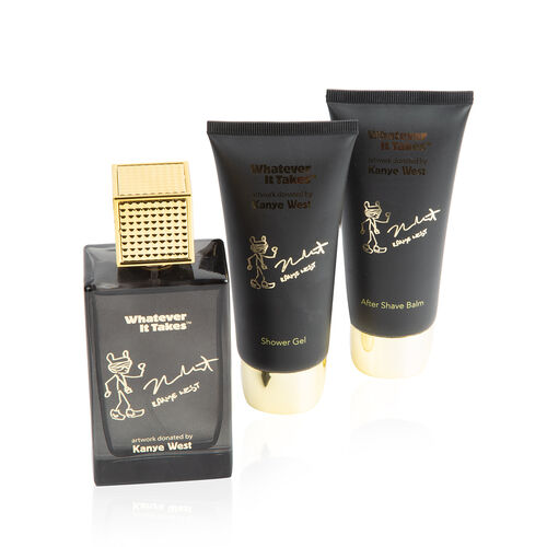 Kanye West Set: Incl. (Eau De Toilette - 100ml, After Shave Balm - 100ml & Shower gel - 100ml)