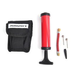1 Set Bicycle Repair Kit with Pump (Includes 16-in-1 Multi-Tool, 2pcs Tyre Levers, Glue, 6pcs Patche