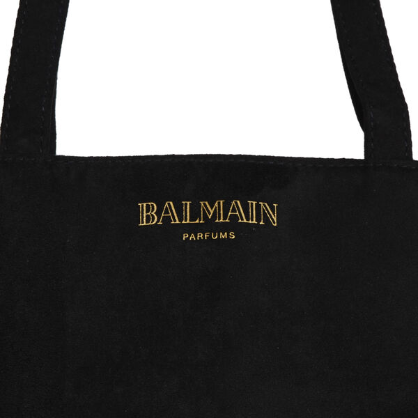 Balmain Tote Bag (Size 30x9x37 Cm) - Black and White