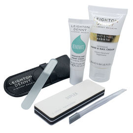 Leighton Denny: Discovery Collection (Incl.Limited Edition Mini Crystal Nail File & Pouch, Nail Rebi