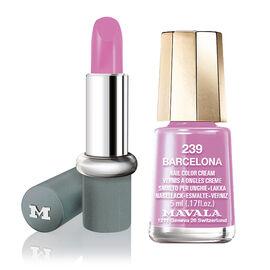Mavala: Daisy Lipstick (With Barcelona Mini Colour)