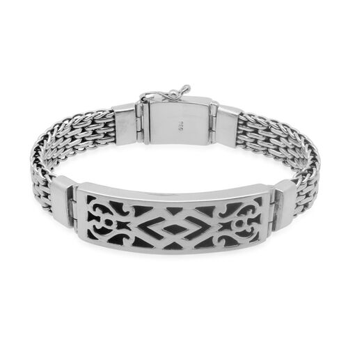Royal Bali Collection Sterling Silver Bracelet (Size 8), Silver wt 61.83 Gms.
