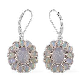 Opal Earrings Fire Australian Opal Earrings In Uk Tjc