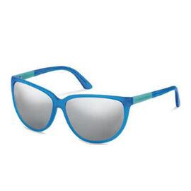 Porsche Design Ladies Blue Transparent Sunglasses