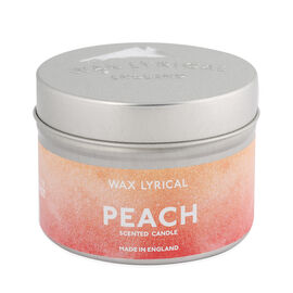 Wax Lyrical Peach Tin Candle (Upto 20 hours)