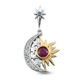 GP Celestial Dream Collection - African Ruby, Tanzanite, Natural Cambodian Zircon and Blue Sapphire