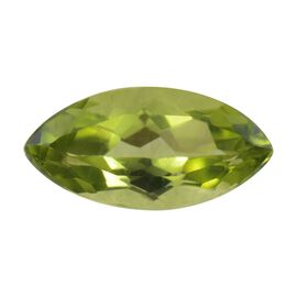AA Peridot Marquee 10x5 Faceted 0.94 Cts
