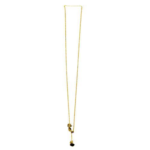 Designer Inspired Italian 9K Y Gold Adjustable Chain (Size 20)