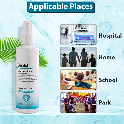 SurSol Clean+Protect Alcohol Free Hand Sanitiser 250ml