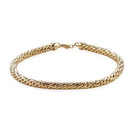 Chain Bracelet in 9K Gold 8.54 Grams 7.25 Inch