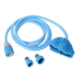 Blue Colour Pet Bathing Tool with Colour Box and Instruction