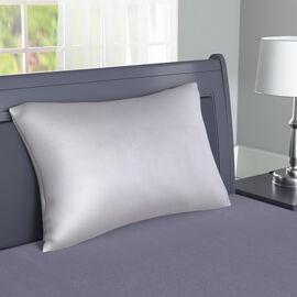 Serenity Night - 100% Cotton Pillow Case (75x50cm) - Light Grey