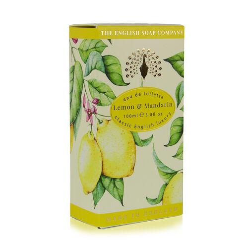 The English Soap Company: Eau De Toilette Spray (Lemon & Mandarin) - 100ml