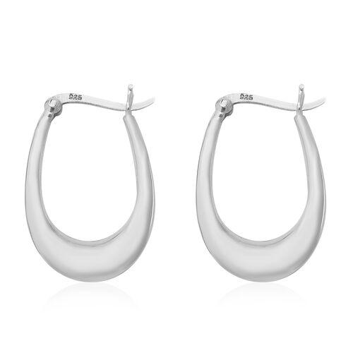 Thai Sterling Silver Hoop Earrings