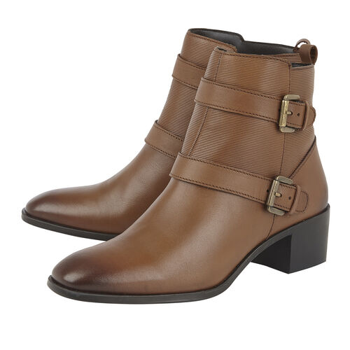 Lotus Leather Teresa Ankle Boots (Size 4)