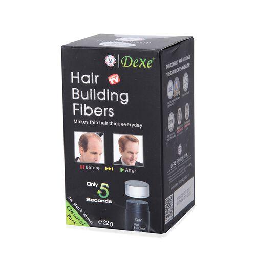 DeXe: Hair Building Fibres - Grey (Black)
