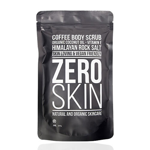 Zero Skin: Coffee Body Exfoliating Scrub (With Himalayan Pink Rock Salt)