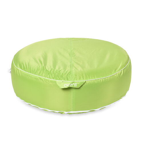 Indoor Outdoor Inflatable Round Pouf (Size 97x97 Cm) - Green