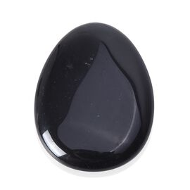 70 Carat Worry Stone Black Obsidian 20.03 Grams
