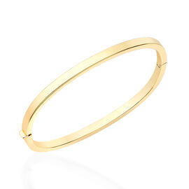 Hatton Garden Close Out 9K Y Gold Bangle (Size 7.5), Gold wt 6.80 Gms.