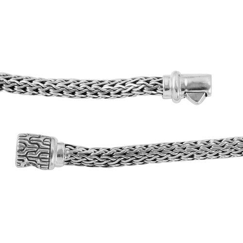 Royal Bali Collection Sterling Silver Tulang Naga Necklace (Size 20), Silver wt 41.59 Gms.