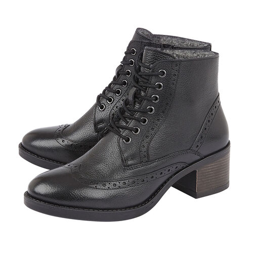 Lotus AMIRA Ankle Boots (Size 4) - Black