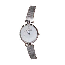 ETERNITY Swarovski Studded Ladies Watch with Silver Tone Strap
