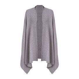 Kris Ana Scattered Shawl One Size (8-16, 170x75cm) - Grey