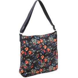 New Season - Water Resistant Tote Bag With Adjustable Strap (35 x 32 x 9 Cms) - Red Floral
