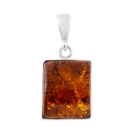 Baltic Amber (Bgt) Pendant in Sterling Silver
