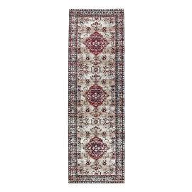 Luxury 95% Cotton Chenille Jaquard Persian Pattern Carpet (Size 240x80 Cm)