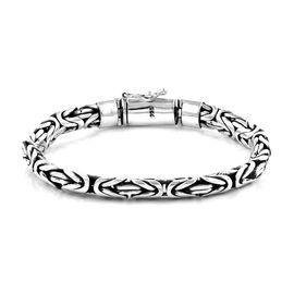 Royal Bali Collection - Sterling Silver Borobudur Bracelet (Size 8), Silver wt 55.33 Gms