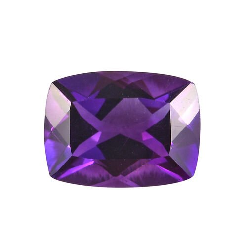 AAA Moroccan Amethyst Cushion 8.09x6.12x4.32 Faceted 1.30 Cts