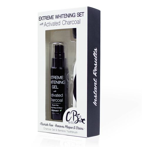 Cougar: Extreme Whitening Duo Set With Activated Charcoal