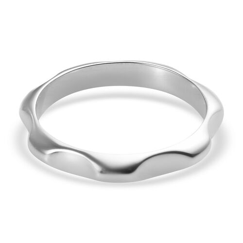 RHAPSODY 950 Platinum Plain Band Ring, Platinum wt 4.10 Gms