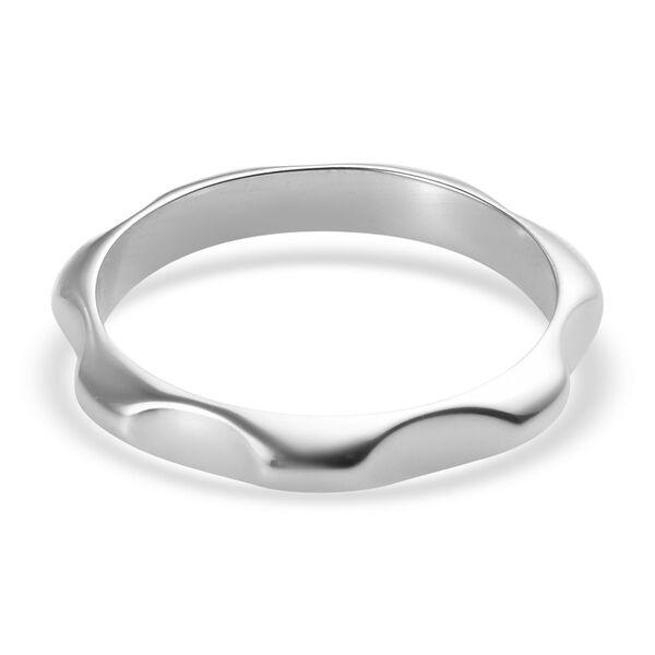 RHAPSODY 950 Platinum Plain Band Ring, Platinum wt 4.10 Gms