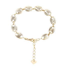 Mariner Link Bracelet In 9K Gold 5.44 Grams 6.5 With 1.5 Inch Extender