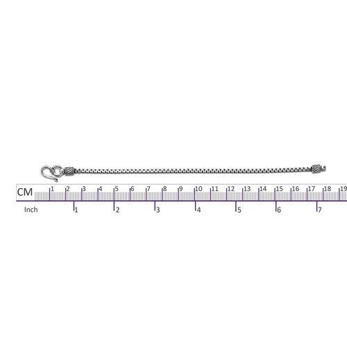 One Time Mega Deal-Sterling Silver Bracelet (Size 7.5), Silver wt 6.69 Gms.