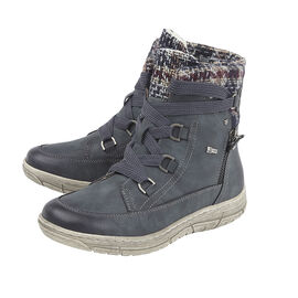 Lotus Denim Teagan Zip-Up Ladies Ankle Boots