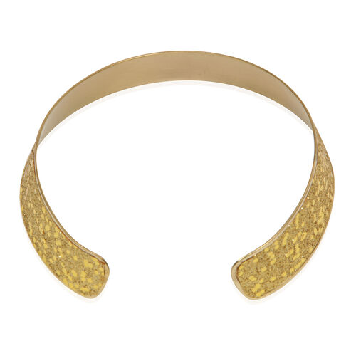 Jewels of India Brass Choker and Cuff Bangle