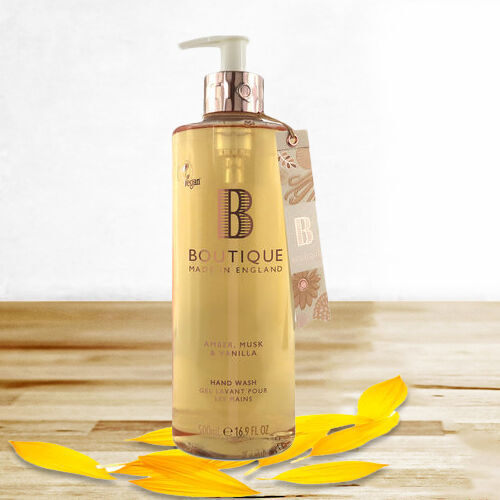 Boutique: Amber, Musk & Vanilla Body Wash - 500ml
