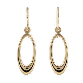 Drop Earrings with Hook in 9K Yellow Gold