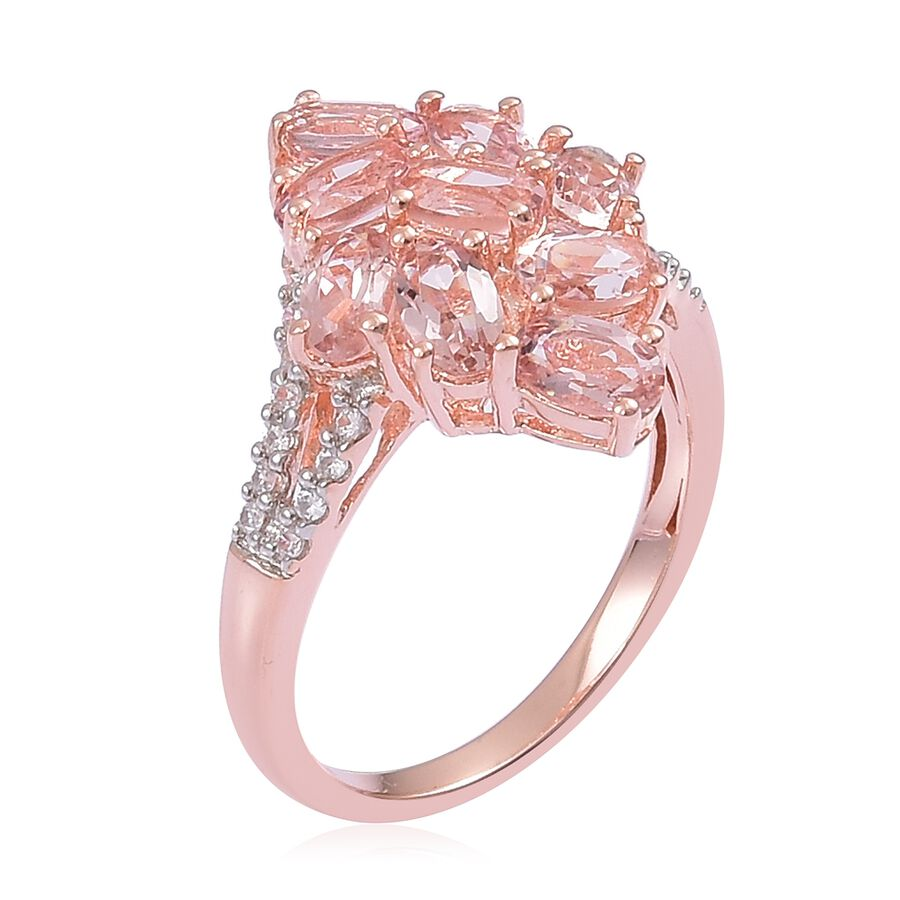 Very Limited Edition- Marropino Morganite (Ovl), Natural White ...