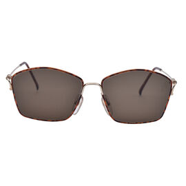 DIOR Tort and Gold Tone Sunglasses with Brown Lenses