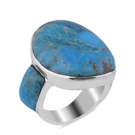 Santa Fe Collection - Turquoise Ring in Sterling Silver 13.500 Ct.
